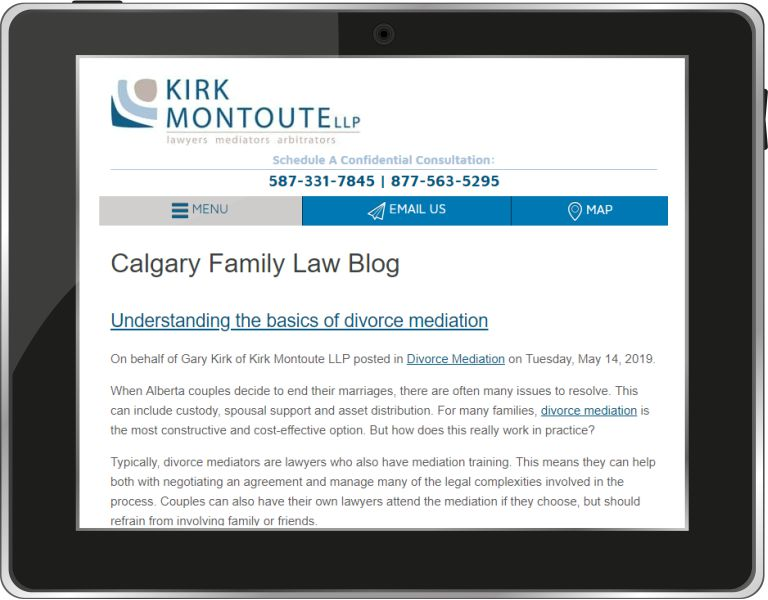 Calgary Family Law Blog