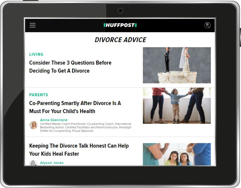 HuffPost Divorce Advice