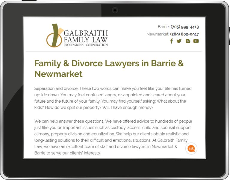 Galbraith Family Law Blog