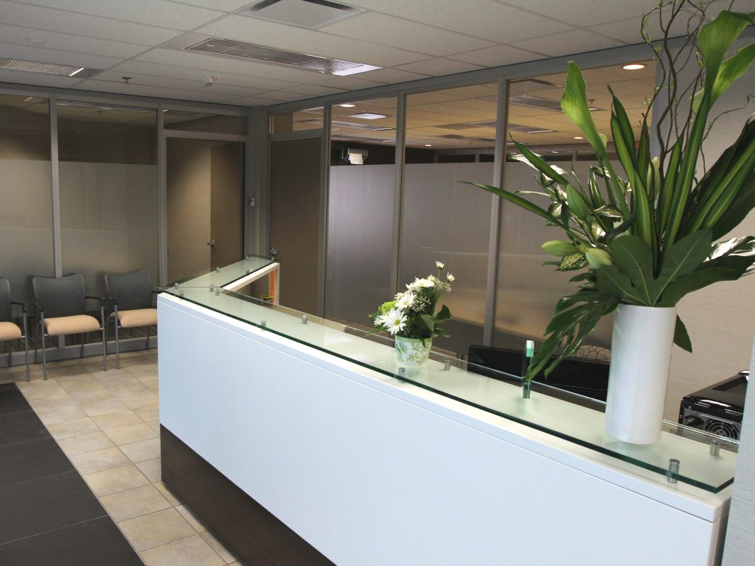 Calgary North Reception Desk