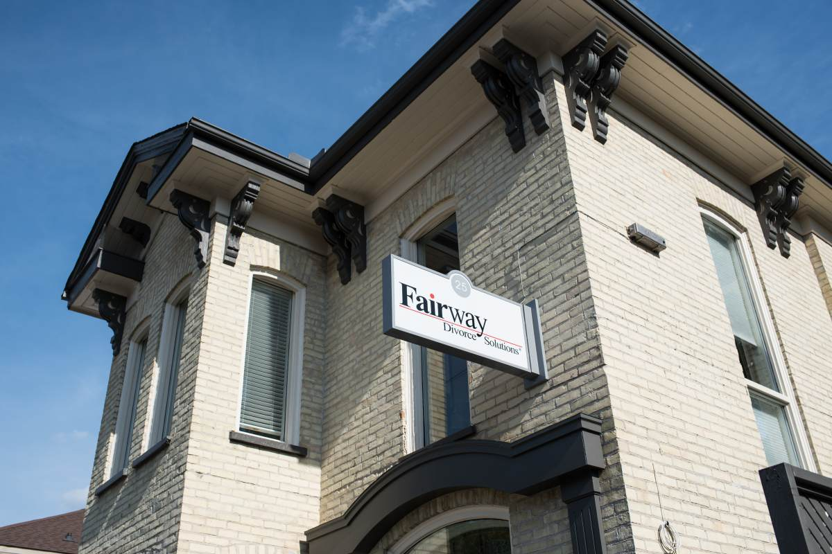 Fairway Divorce Waterloo Ontario Office Exterior View